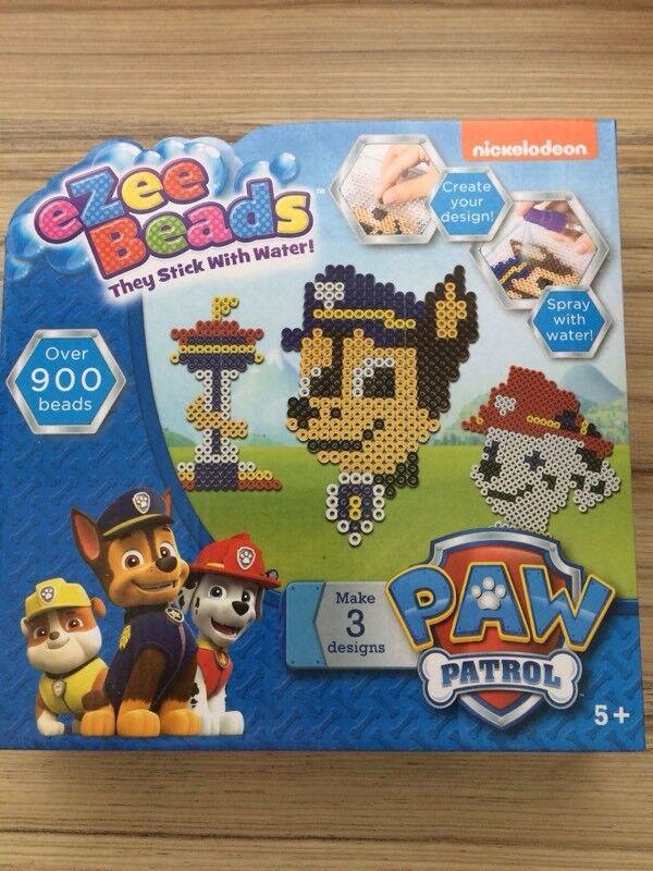 New paw patrol Ezee beads set