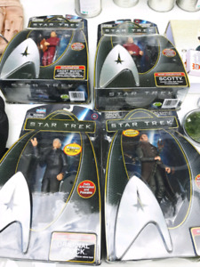 Star trek characters set of 4