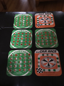 Regal Mfg Co. Car Board Games