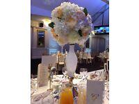 Flower ball vase for hire £30 each