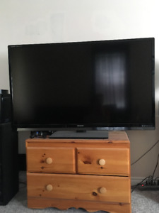 Tv speakers and Amp