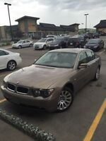 2003 BMW 745i*only 66000kms! Must see! Immaculate!