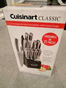 21 Piece Knife set