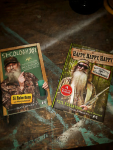 Duck Dynasty hard cover books