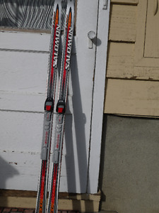 Kid's Youth SNS Classic Cross Country Waxable Skis 130 / 131 cm