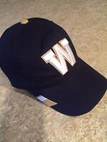 BLUE BOMBER CFL AUTHENTIC SIDELINE CAP