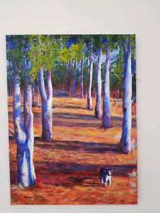 Painting by local artist Edgewater Joondalup Area Preview