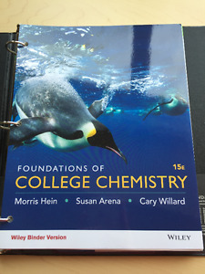 Wiley-Foundations of College Chemistry + ACCESS CODE For Sale