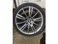 """BMW GENUINE MV3 ALLOY 18"""" 8.5J"""