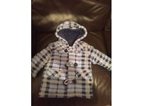 Free boys coat 3-6 months
