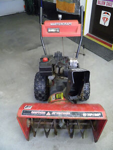 snowblower/ souffleuse for repair or parts (10HP) two stage