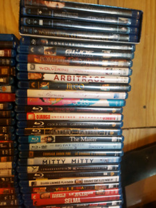 Lots of dvds and blurays all for $140