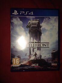 Star Wars battlefront ps4 £10