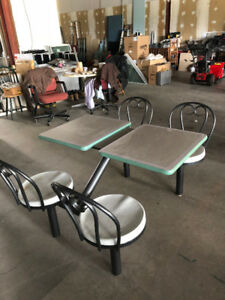 Restaurant Tables, Chairs, and Booths (Great Condition!)