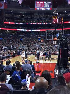 Toronto Raptors - 103 Row F - All Games - 5 ROWS FROM COURTSIDE Oakville / Halton Region Toronto (GTA) image 1