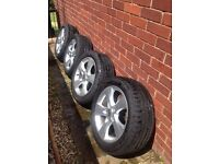 Mk6 Astra 17 inch sri alloys and tyres