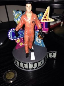 Elvis Presley stand Collectible plays music