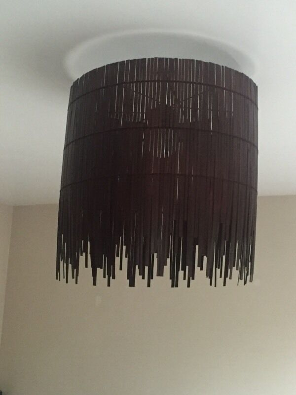 Large wooden light shade ikea in dundee gumtree large wooden light shade ikea aloadofball Choice Image