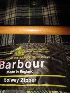 Barbour Ashby Wax Jacket Olive with Snap-on/off Hood Kingston Kingston Area image 4