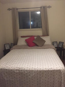 Well furnished room available for March 1st.