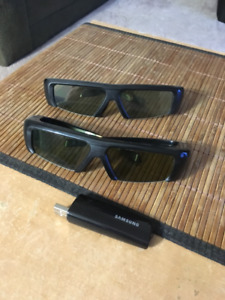 Samsung 3D TV Glasses and wifi dongle