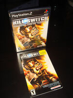 PS2-KILL SWITCH (GAME DISC NOT INCLUDED)