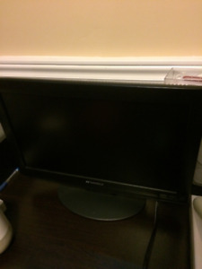 "Sansui 19"" 720p HD LCD TV."
