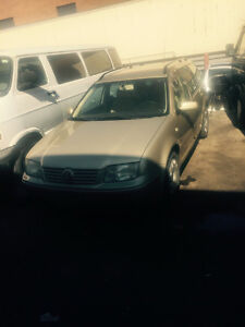 Parting out a 2003 Vw station wagon 1.8 turbo
