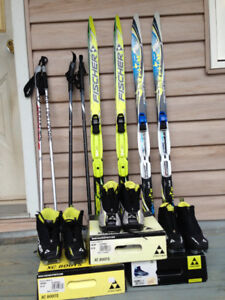 Cross Country Ski Package Kids Youth Jr Nordic