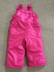 Pink snow pants. Size 18-24 m