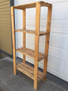 (Tall) Shelving Unit - Use Outdoors or Indoors