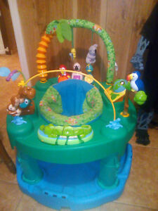 ExerSaucer Life in the Amazon Triple Fun  Saucer