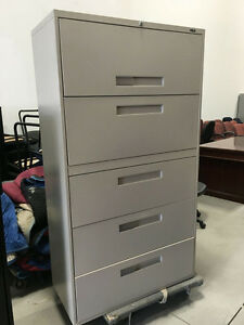 5 Drawer Lateral Filing Cabinet  - $325.00