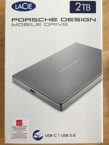 2TB HDD Porche Design slim