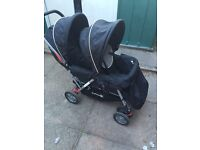 A very good double push chair will be sale only 45 quid ,