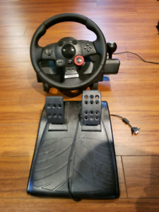 Logitech GT force wheel and pedals $100 OBO