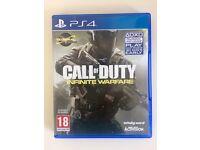 Call of Duty Infinite Warfare PS4 mint