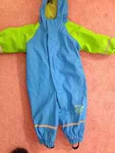 Toddler Fleece-lined Rain Suit from Germany - PPU!