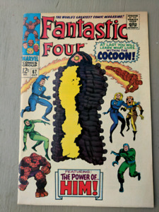 Fantasticn Four 67. First appearance of Him, Adam Warlock