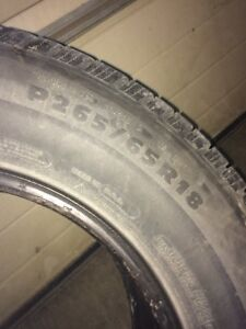 2 Michelin Tires Stratford Kitchener Area image 2