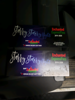 2 tickets to the enchanted forest drive through  20$ each