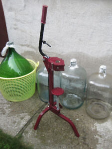 Complete Wine making equipment -- $400 for all OBO