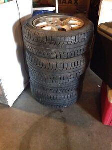 195/55R15 tires