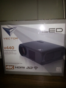 1080p Widescreen  LED 3D Projector