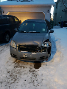 2008 Chev Aveo-selling for parts *NEW BREAKS+2 NEW ALL S. TIRES