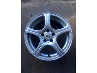 15 inch 5 Spoke Alloy Wheels( BK Racing)