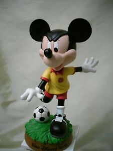 Mickey Mouse soccer player