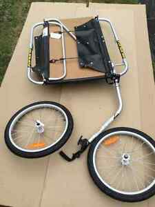 Braun Burley Bike Cart - Never used, strong