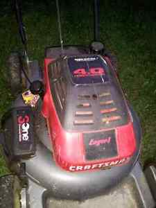 Craftsman mag lawnmower 4.0