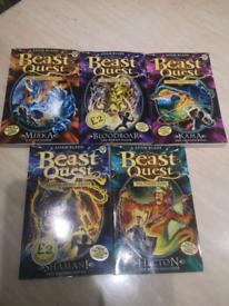 Beast Quest X 5 Books